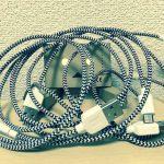 cheero Fabric braided USB cableを割とハードにレビューしてみる。