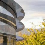 Apple Parkを上空からドローンで撮影した最新の映像が登場