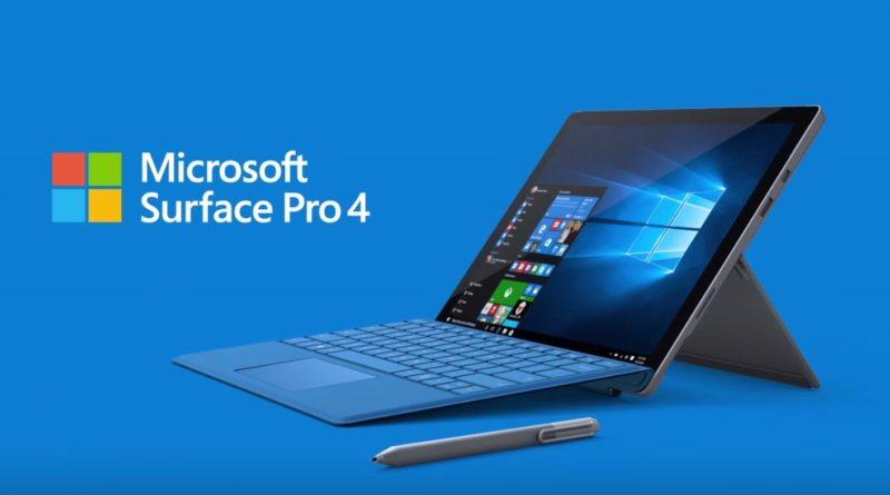 Microsoft、Surface Pro4向けの最新ファームウェアアップデートをリリース