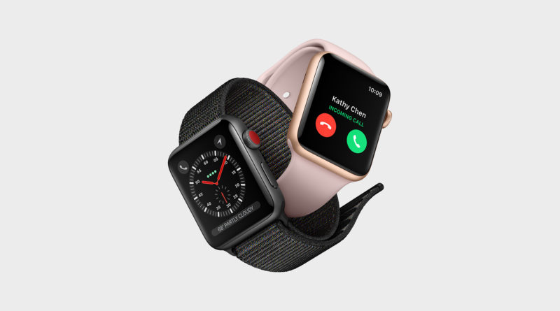Apple Watch Series 3 Cellularモデルは通信契約なしでも緊急通報は可能な模様