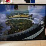Apple Parkの様子をARで知れる!Apple Park Visitor Center内にあるiPadと模型が面白そう