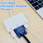 Amazon Basic USB-C VGA Multiport Adapterをレビュー!