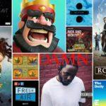 Apple、2017年に最も人気を集めたアプリケーション、音楽、映画などを発表