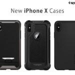 Spigen、iPhone Xをまるごと包み込む全面保護ケース3種の販売を開始