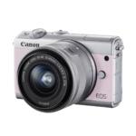 Canon、ミラーレスカメラ「EOS M100」に新色のピンクを追加 リミテッドピンクキットを数量限定で発売