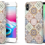 Spigen、幾何学モチーフが個性的なiPhone X/8/8 Plus用ケース「シン・フィット アラベスク」を発売開始