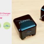 [レビュー]cheero USB-C PD Chargerがやってきた!USB-PD対応の小型ACアダプターがcheeroより登場!【PR】