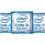 Intel、ラップトップ向け第8世代Core i プロセッサに新モデルを追加 Core i9 – 8950HKなどが登場