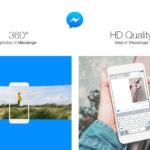 Facebook、「メッセンジャー」アプリが360度写真の送信に対応したことを発表