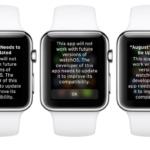 watchOS 4.3.1 betaで「WatchKit(watchOS 1)」を利用して作成されたアプリを起動すると警告が表示される