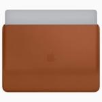 Apple、MacBook Pro 13/15インチ用レザースリーブケースを発表 12インチ版に新色も追加