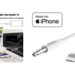 Belkin、「Lightning to 3.5mm オーディオケーブル」に新色ホワイトを追加