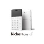 LTE回線に対応した「NichePhone-S 4G」が2018年9月14日に発売へ