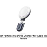 [レビュー]Anker Portable Magnetic Charger for Apple Watch をチェック USB-C接続の AW 専用充電器