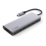 Belkin、USB-C 7-in-1マルチポートハブアダプターを6月30日より販売へ